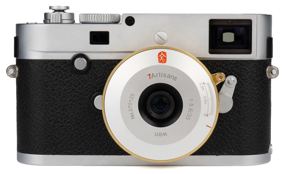 Объектив 7artisans 35mm f/5.6 с камерой Leica
