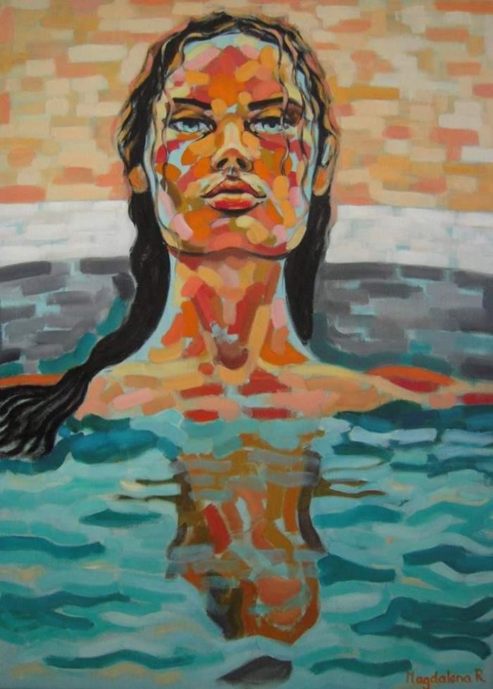 Аргентинский художник. Magdalena Ana Rosso