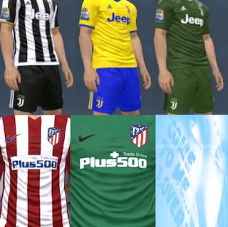 Kits PES 2017 Season 2017-2018