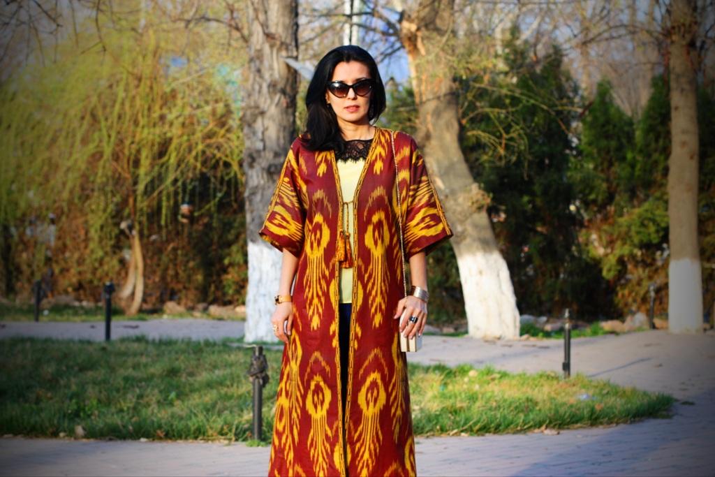 картинки с узбекскими платьями стал