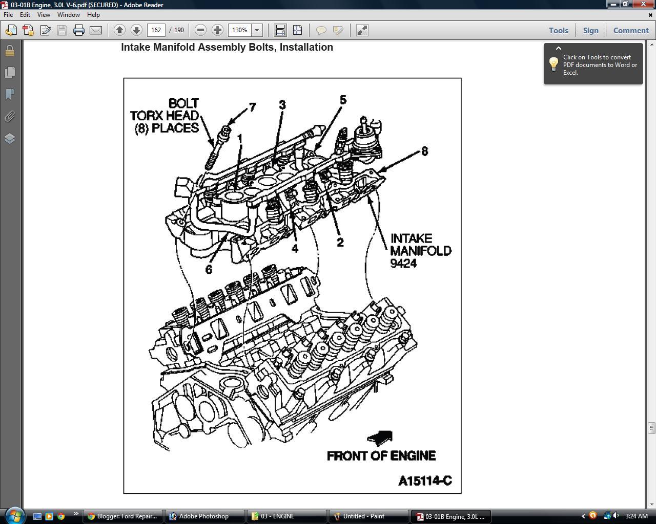 Ford Repair Station: Ford Ranger 1993 94 95 96 97 23L , 3