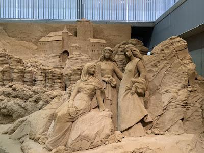 砂の彫刻作品その2
