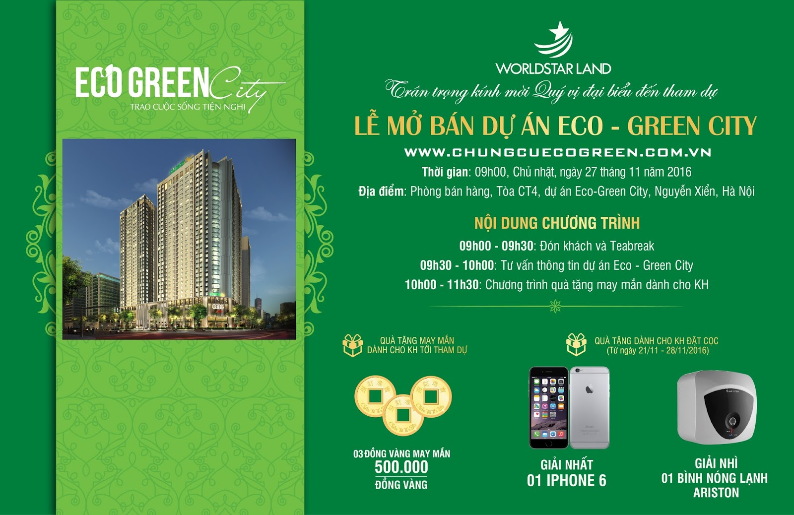 thu moi mo ban eco green city