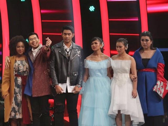 Genya Gugur di Babak Live Round 3, Coach Titi Pun Menangis