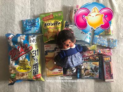 kiki monchhichi zenpop snacks japonais candies bonbons