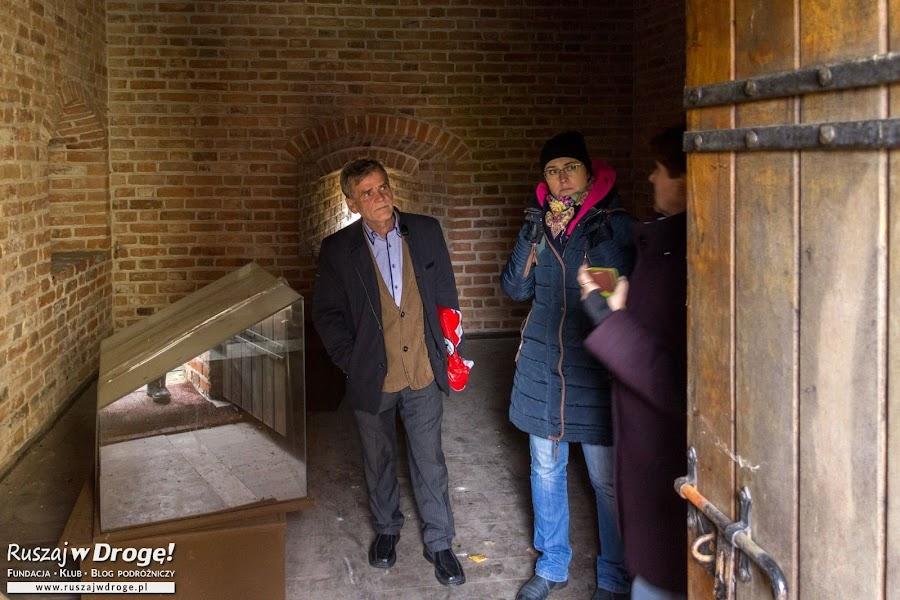 Frombork - wejście do Wieży Kopernika