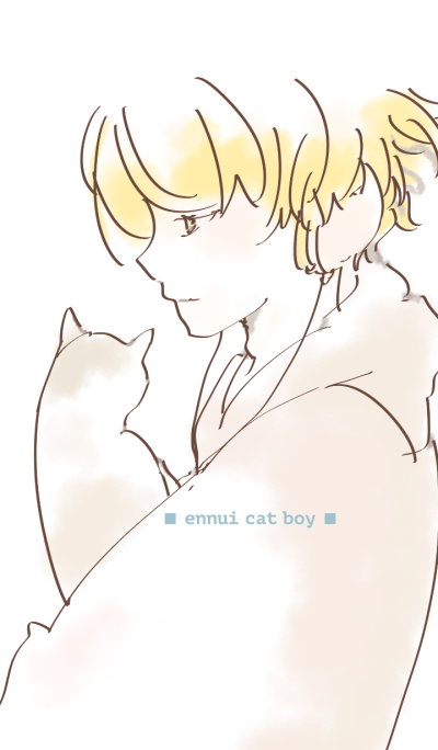 ennui cat boy