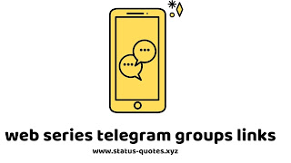 Telegram Web Series Channels & Groups