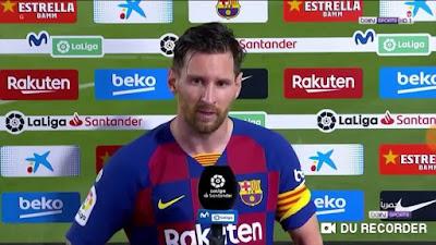 فيديو .. شاهد تصريحات ميسي بعد خسارة برشلونة امام اوساسونا في الدوري الاسباني