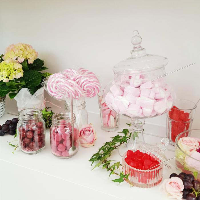 Caudalie - Vino Source #LifeisBetterinPink Blogger Event Candy Bar