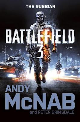 """News: Capa do livro """"Battlefield 3: O russo"""", escrito por Andy McNab. 8"""