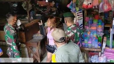 Perempuan Maki-Maki Anggota TNI karena Ditegur Tak Pakai Masker, Berakhir Nangis