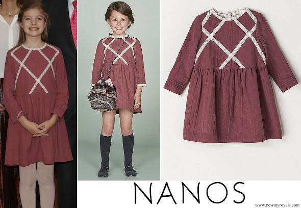 Infanta Sofia wore Nanos Dress from 2017-2018 Winter Collection