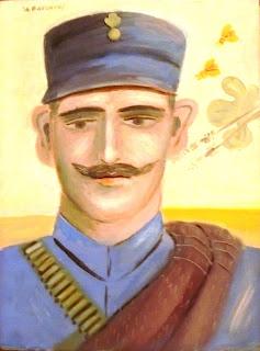 το έργο Αντώνης Μπενάκης του Αλέκου Φασιανού στο Μουσείο Μπενάκη