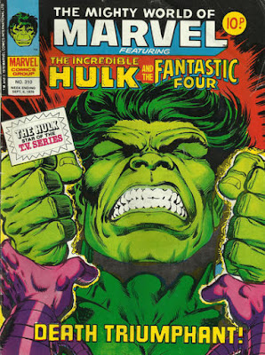 Mighty World of Marvel #310, the Incredible Hulk
