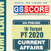 GS Score Target PT 2020 PDF Notes Download for UPSC Prelims Examination