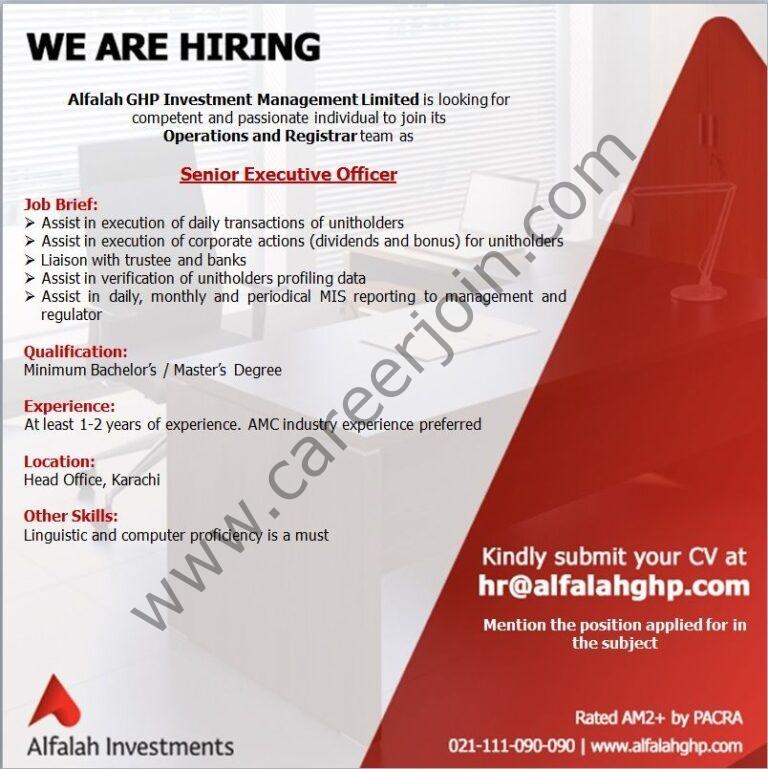 Alfalah GHP Investment Management Ltd 2021 in Pakistan