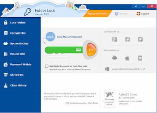 Folder Lock 7.6.3 Multilingual Full Keygen