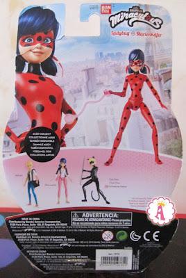 Кукла Леди Баг с шарнирным телом