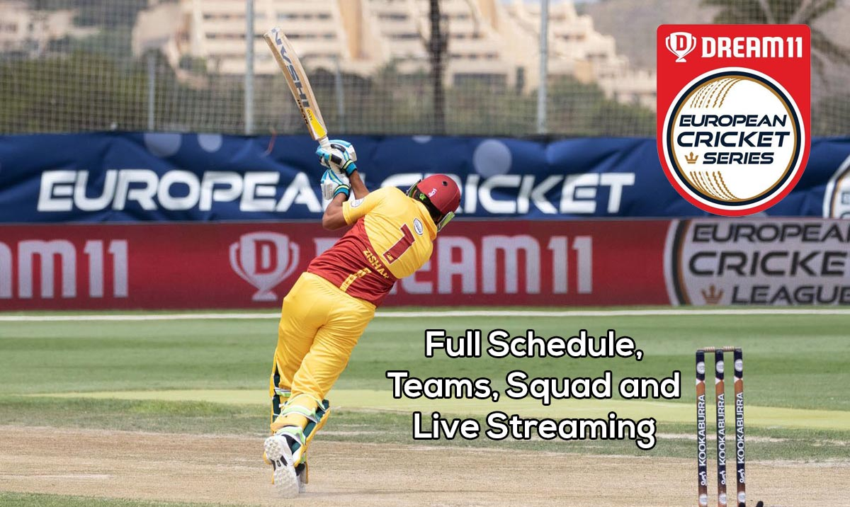 Dream11 European Cricket Series T10 League 2020 Schedule: Teams, Venue, Squads, and Live Streaming