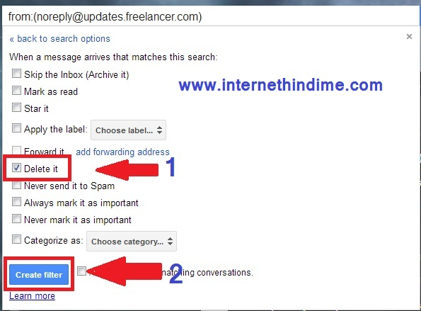 How to remove unwanted Emails