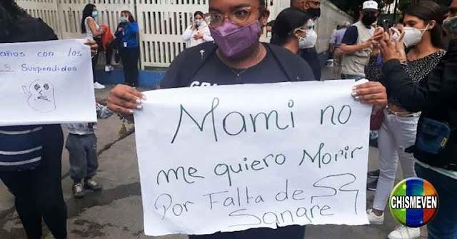 VENEZUELA POTENCIA   5 niños han muerto en el JM de los Ríos por falta de sangre