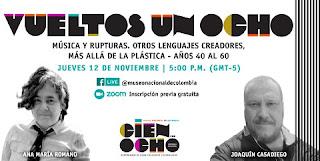 """Ciclo Vueltos un ocho """"Más allá de la plástica - años 40 al 60"""""""