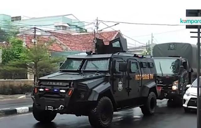 Pasukan TNI Sambangi Markasnya, FPI: Cuma Lihat-Lihat Aja