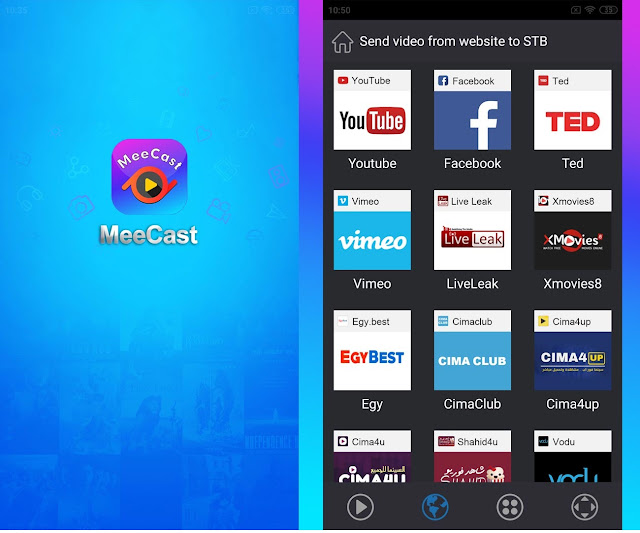 MeeCast TV Andoid Streaming Media