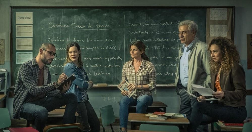 Aparato do Entretenimento: CRÍTICA: Segunda Chamada - Um convite a reflexão sobre a educação brasileira