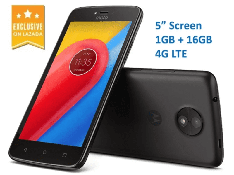 Sale Alert: Moto C 4G is now on Sale at Lazada for PHP 2999!