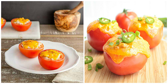 Tuna Stuffed Tomatoes Recipes: 17 Ideas for Using Canned Tuna Round-Up