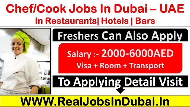 Chef Jobs In Dubai, Abu Dhabi & Sharjah - UAE