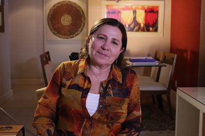 Dra. Maria Zilda Gomes Correia no primeiro episódio - Divulgação