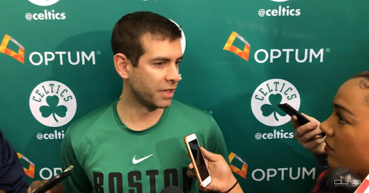 Brad Stevens praises Al Horford: 'I don't worry too much about Al'