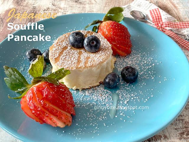 Japanese Souffle Pancake スフレパンケーキ 舒芙蕾松饼