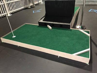 Orpheum Mini-Golf in Memphis, Tennessee. Photo by Jon Drexler, August 2020