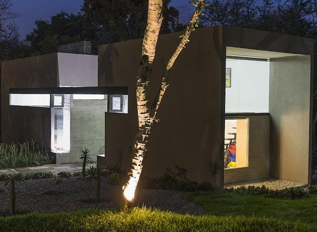 Rumah minimalis modern 2 lantai sederhana