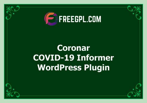 Coronar – COVID-19 Informer for WordPress Free Download