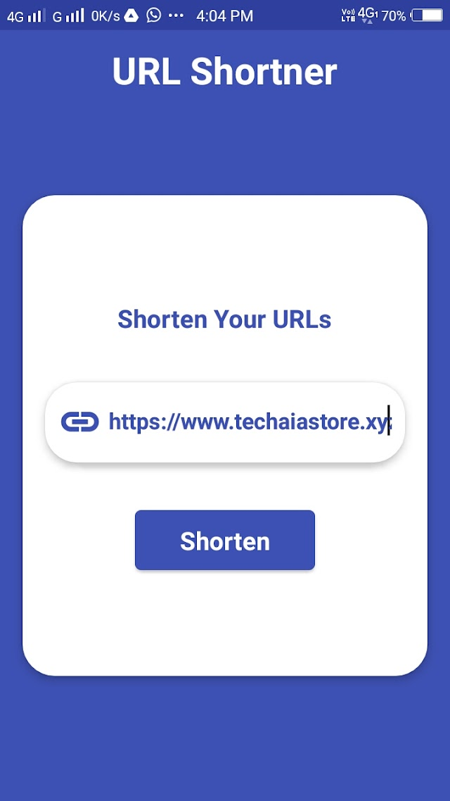 URL Shortner Aia File