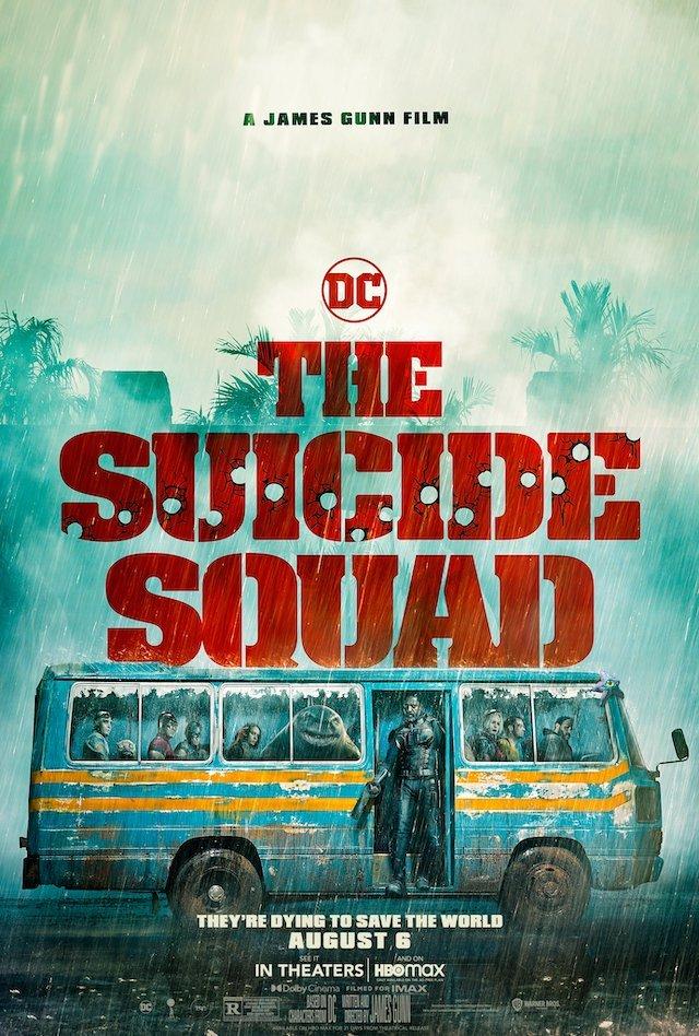 O ESQUADRÃO SUICIDA   Diretor divulga pôster internacional do filme da DC
