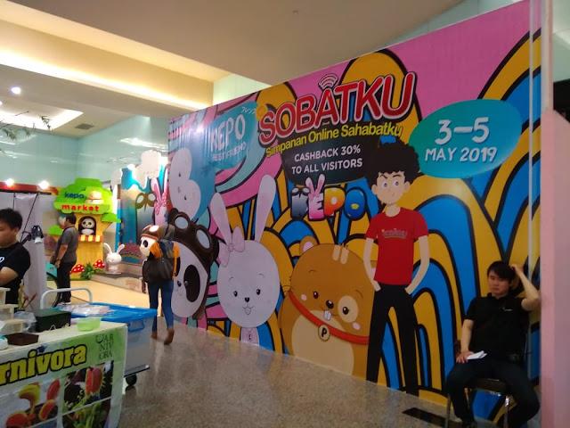 Serunya Festival Kepo Market Dan Undian 100 Juta Dari SOBATKU Di Surabaya