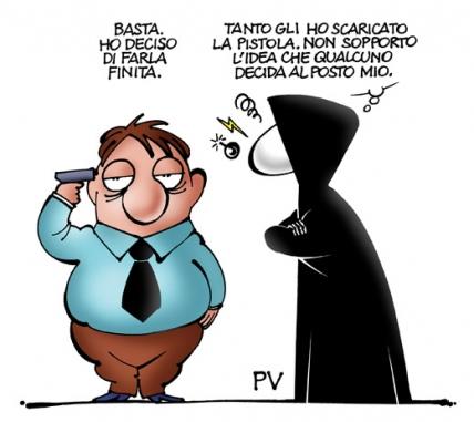 Super ♥: DIVERTENTI VIGNETTE SULLA MORTE - Pietro Vanessi RP14