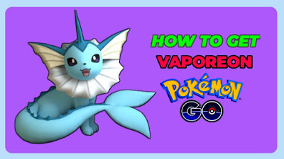 How to get vaporeon