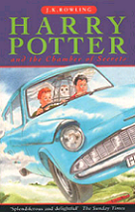 Harry Potter and the Chamber of Secrets by J. K. Rowling book cover