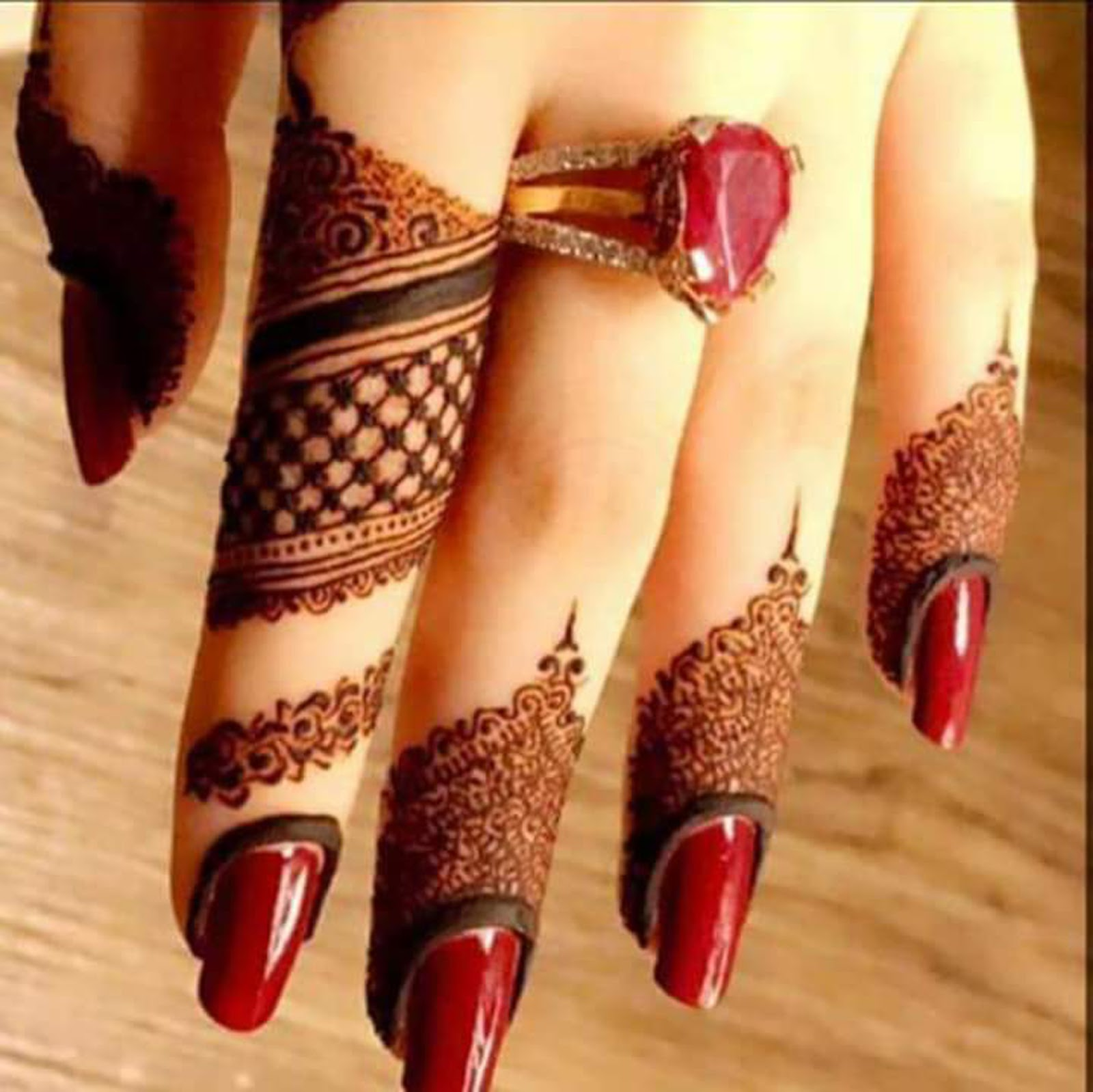 New Mehndi designs 2019 fingers designs , Fancy Fashion Points
