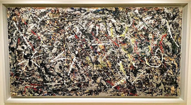 Alchemy by Jackson Pollock at Peggy Guggenheim: The Last Dogaressa - photo by Cat Bauer