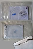 Zniszczona koperta poczta polska podarta koperta