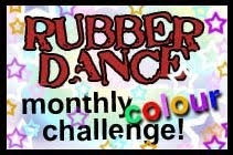 Rubber Dance Stamps February DT Pick