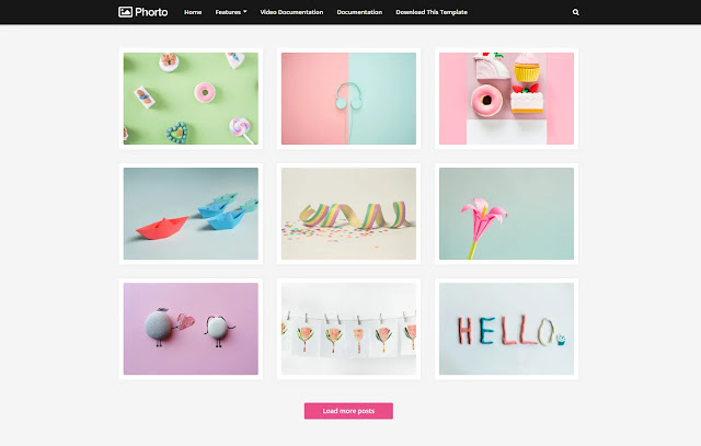 Phorto Responsive Tutorial Tips & Tricks Personal Blog Fashions Blogger Template Theme